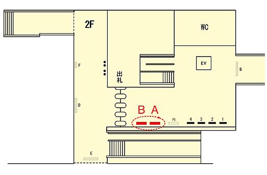 北習志野SK-V駅図